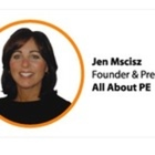 Jennifer Mscisz founder of All About PE