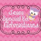 Jess's Special Ed Adventures