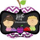 Just For Preschoolers