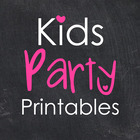 Kids Party Printables