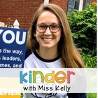 Kinder with Miss Kelly