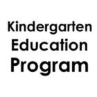 Kindergarten Education Program