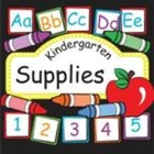Kindergarten Supplies
