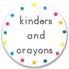 kinders and crayons