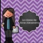 La Classe de Mme Alexandra