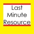 Last Minute Resource