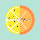 Lemons into Orange Juice