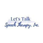 Let's Talk Speech Therapy Inc
