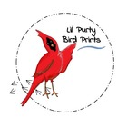 Lil' Purty Bird Prints