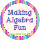 Making Algebra Fun
