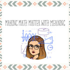 Making math matter with meaning