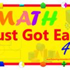 Math Just Got Easier For U
