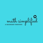 Math Simplified - A Secondary Resource