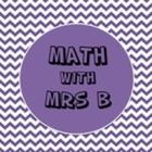 Math With Mrs B