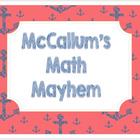 McCallum's Math Mayhem
