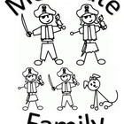 Me Pirate Family