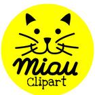 Miau cliparts