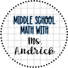 Middle School Math with Ms Andrick