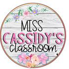 Miss Cassidy's Classroom