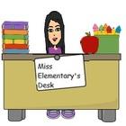 Miss Elementary's Desk