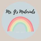 Miss G's Materials