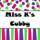 Miss K's Cubby