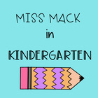 Miss Mack in Kindergarten