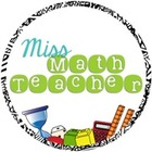 Miss Math Teacher