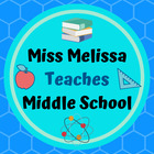Miss Melissa Teaches Middle School