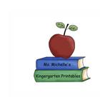 Miss Michelle's Kindergarten Printables