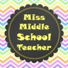Miss Middle School Teacher