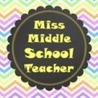 Miss Middle School Teacher