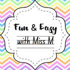Miss M's Marvellous Teaching