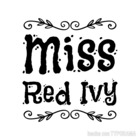 Miss Red Ivy