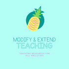 Modify and Extend Teaching
