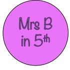 Mrs B in 5th