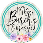 Mrs Burchs Library