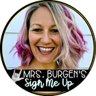 Mrs Burgen's Sign Me Up