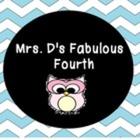 Mrs D's Fabulous Fourth
