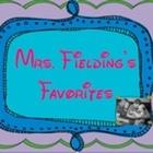 Mrs Fielding's Favorites