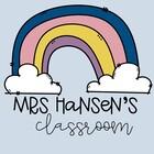 Mrs Hansens Classroom