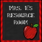 Mrs H's Resource Room