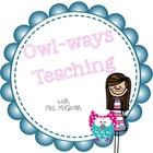 Mrs McGrath   Owl-ways Teaching