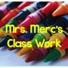Mrs Mercs Class Work