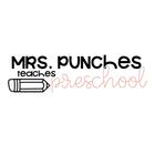 Mrs Punches Teaches Preschool
