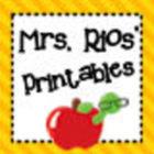 Mrs Rios Printables