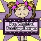 Mrs Whelchel Teaching Designs