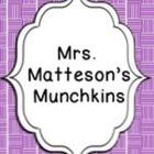 MrsMattesonsMunchkins