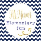 Ms Morenos Elementary Fun