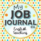 My Job Journal ESL